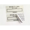 China Low Residue VOID Printable Security Labels With Matt / Glossy Silver for sale
