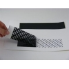 China Black PET Printable Security Labels In Fully Transfer Strong Adhesive for sale
