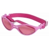 China Doggles K9 Optix Shiny Pink Rubber Frame with Pink Lens Sunglasses, X-Small for sale