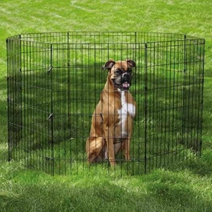 China Easy Exercise Pens for Dogs and Pets - Black; Extra Small on sale
