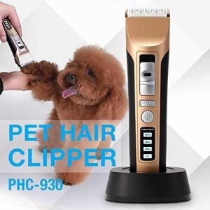 China Electric Grooming Clippers PETFLY Rechargeable Cordless Clippers Kit for Pets Dog Cat on sale