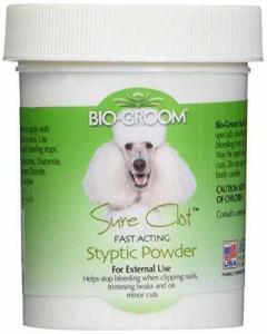 China Bio-Groom Sure Clot Styptic Powder 1.5 Oz on sale