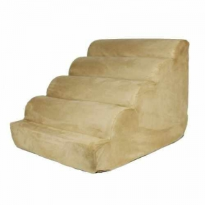 China Snoozer Scalloped Pet Ramp, Medium, Camel on sale