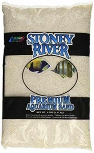 China Stoney River White Aquatic Sand Freshwater and Marine Aquariums, 5-Pound Bag on sale