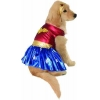 China DC Comics Pet Costume, Medium, Wonder Woman for sale