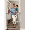 China Regalo Deluxe Easy Step Extra Tall Gate Platinum, 29-39 Inches Wide for sale