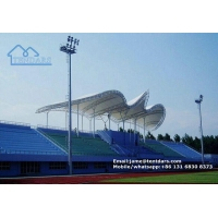 China Giant Outdoor Stadium Tent Membrane Structure Shelter for Football Match Bleacher Cover Shade on sale