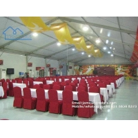 High Quality Waterproof Party Event Tents with Close Sidewalls to Resist Heavy Raining