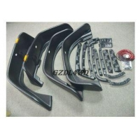 4X4 Car Off Road Fender Flares For Jeep Wrangler JK Extensions Flat Style