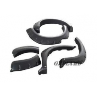 China 6 PCS ABS Wide 4x4 Wheel Arch Flares For Toyota Hilux SR Vigo MK6 12 - 14 on sale