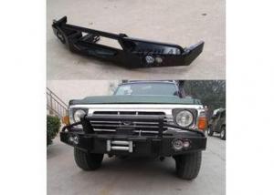 China Nissan GQ Patrol Y60 Front Bumper Guard Rolled Steel Heavy Duty Truck on sale