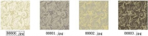 China different types of wallcovering for room decoration supplier