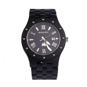 China Man High Quantity Waterproof Wooden Watch on sale