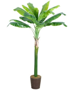China Artificial Large Trees Big banana Y8328-15-1P on sale