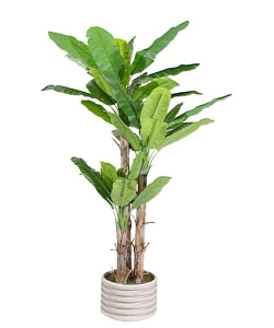 China Artificial Large Trees 2.7 m large banana Y8328-36-3TS on sale