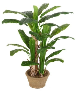 China Artificial Large Trees 1.6 m large banana Y8328-29-5TS on sale