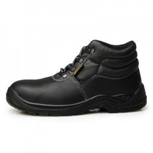 China steel toe work shoes Mid Cut Safety Work Shoes With Steel Toe For European Market on sale