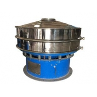 Rotary vibrating screen sieve for seeds/grains/beans/fertilizer
