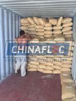 China cationic polyacrylamide flocculant on sale