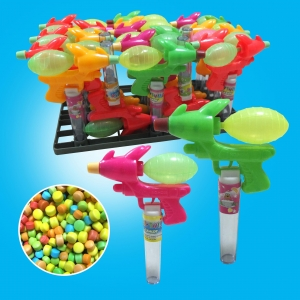 China TRAYS TOYS CANDY Space Water Gun Toy Candy-TL-A037 on sale