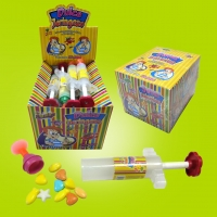 China Candy containers Needle air gun toy candy-TL-B007 on sale