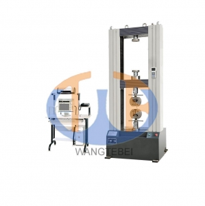 China 100N - 600KN electron steel universal testing machine/ rubber tensile tester on sale