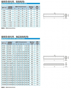China Splicing sleeves for aluminium coductor notch on sale