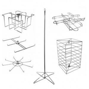 China Spinning Rack Floor Freestanding Spinner Display Rack on sale