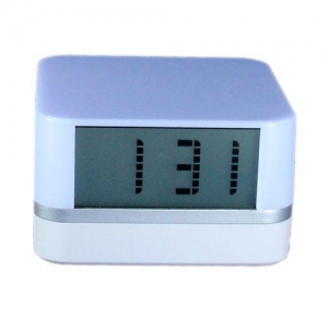 China USB HUB 1094 4 Port USB 2.0 Hub with Clock and Color Changing Mood Light on sale