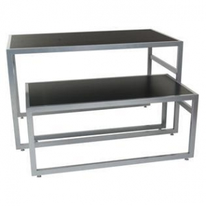 China Acryl Display Modern Nesting Table with Steel Frame on sale