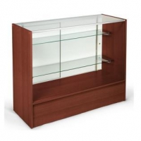 China Acryl Display 48 Long Cherry Melamine & Glass Retail Counter on sale