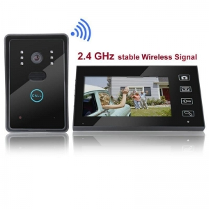 China HL-8011 7 inch Wireless Intercom Doorbell Home Security Monitor on sale