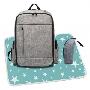China Baby Bags Diaper Backpack Style Set Online Sale for Mothers on sale