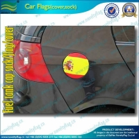 China Popular and Cheap Custom automobile Fuel Tank Cap flag Cover on sale