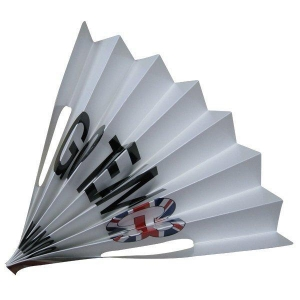 China Foldable Paper Banner Fan Clapper on sale