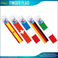 China CUSTOM MADE FLAGS Finger Flying Flags on sale