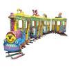 China Amusement train cartoon themed track train for sale for sale