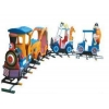 China Amusement train Small Kiddie Electric Track Trains with good price for sale