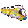 China Amusement train 8 Seats Electric Small Train With Good Price for sale