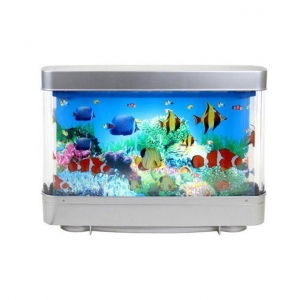 China Artificial Fish Aquarium Decorative LED Lights for Home Decoration on sale