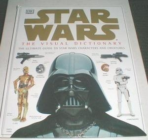 China Star Wars Visual Dictionary Hardcover book, binding tear on sale