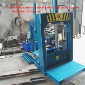 China hydraulic rubber cutting out machine rubber bale cutter machine on sale