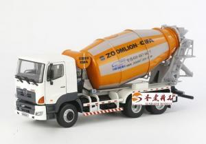 China Car Model 1:35 ZOOMLION 10CBM MIXER Truck on sale