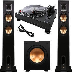 China Numark TT250USB Professional DJ Direct Drive Turntable and Klipsch Speaker Kit on sale