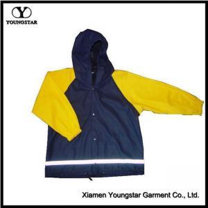 China Reflective Children's Boys Girls Raincoats Rain Jackets Suit on sale