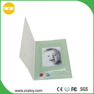 China Buy Birthday Wedding Invitation Recordable Greeting Card with Photo Windows on sale