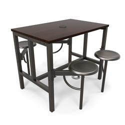 China OFM Endure Series 9004 Standing Height Table with Stools and Powered Surface on sale