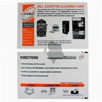 China POS Cleaning Cards 25PCS-BillAcceptor on sale