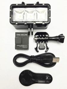 China G3 Waterproof LED Light for GoPro on sale