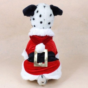 China Dogs Urparcel Christmas Dog Clothes Santa Dog Costumes Pet Apparel New Design (S) on sale
